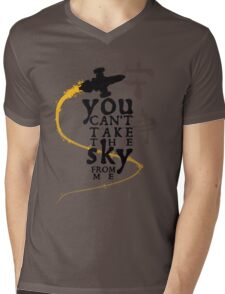 You can't take the sky from me.  Mens V-Neck T-Shirt