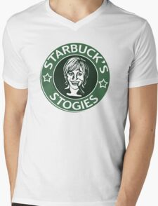 Starbuck's Stogies Mens V-Neck T-Shirt