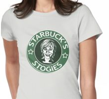 Starbuck's Stogies Womens Fitted T-Shirt