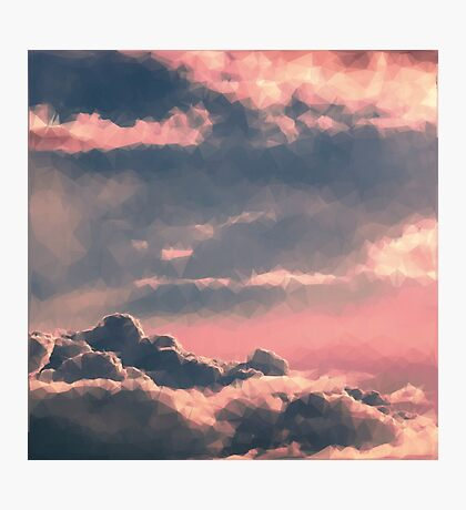 Clouds Above Photographic Print