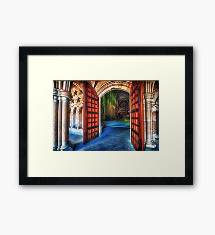 Welcome.... Framed Print