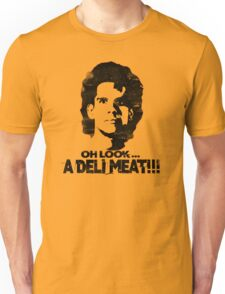 Heavyweights: Oh Look.. A Deli Meat!!! Black Unisex T-Shirt