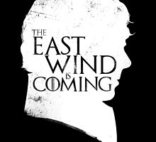 The East Wind Is Coming (White) by Federico Sironi