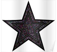 Black Star Poster