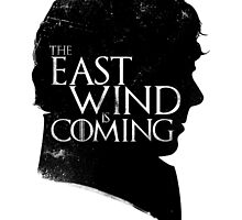 The East Wind Is Coming (Black) by Federico Sironi