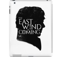 The East Wind Is Coming (Black) iPad Case/Skin