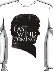 The East Wind Is Coming (Black) T-Shirt