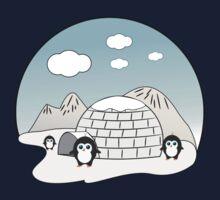 Cute penguins One Piece - Short Sleeve