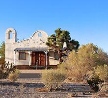 Desert church by Karol Franks
