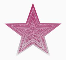 Pink Star Tee One Piece - Short Sleeve