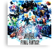 FINAL FANTASY WORLD NILA Canvas Print