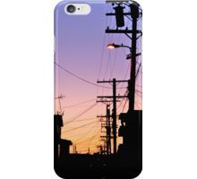 sunset in hollywood iPhone Case/Skin