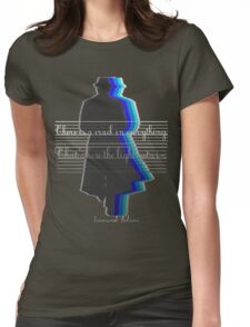 There is a crack in everything.That's how the light gets in Womens Fitted T-Shirt