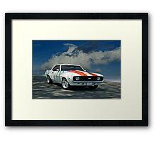1969 Chevrolet Camaro SS LS1 Framed Print