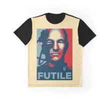 'Futile' (Obama style) T-shirt Graphic T-Shirt