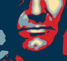 'Futile' (Obama style) Poster & stickers Sticker