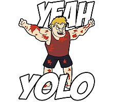 "NEW* YOLO MERCHANDISE – ""YEAH YOLO"" Photographic Print"