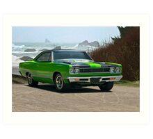 1968 Plymouth Roadrunner 383 cu. in. Art Print