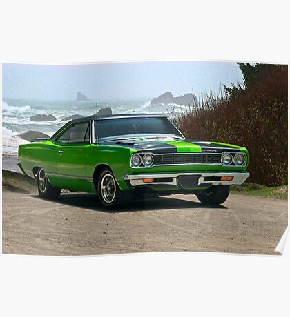1968 Plymouth Roadrunner 383 cu. in. Poster