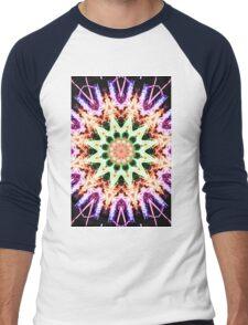 Firework Kaleidoscope 2 Men's Baseball ¾ T-Shirt