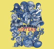 SUPER SMASH SISTERS One Piece - Short Sleeve
