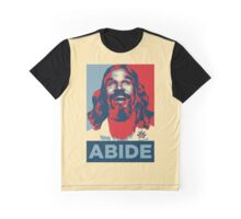 'Abide' (Obama style) T-shirt Graphic T-Shirt