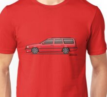 Volvo 850R 855R T5R Wagon Red Unisex T-Shirt