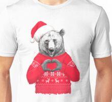 Christmas bear Unisex T-Shirt