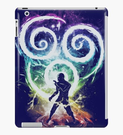 air tribe -rainbow version iPad Case/Skin