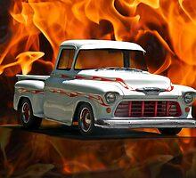 1956 Chevrolet 'Apache' Pickup Truck by DaveKoontz