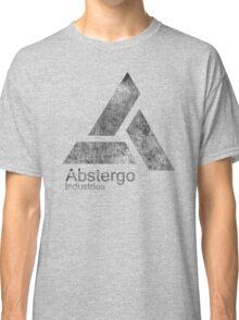 °GEEK° Abstergo Industries B&W Logo Classic T-Shirt