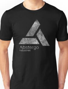 °GEEK° Abstergo Industries B&W Logo Unisex T-Shirt