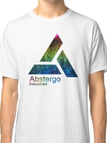 °GEEK° Abstergo Industries Rainbow Logo Classic T-Shirt