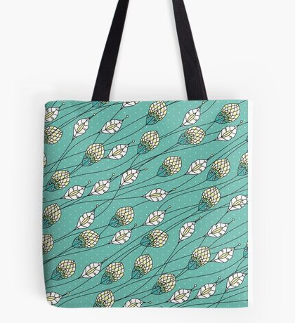 Windy Buds Tote Bag