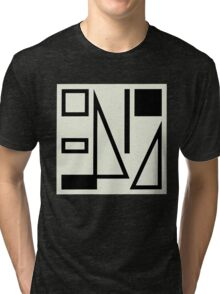 True Colours Split Enz b&w Tri-blend T-Shirt
