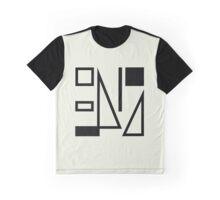True Colours Split Enz b&w Graphic T-Shirt