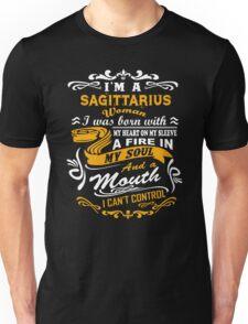 I'm A Sagittarius I Can't Control T-shirt Unisex T-Shirt