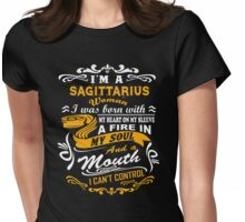 I'm A Sagittarius I Can't Control T-shirt Womens Fitted T-Shirt