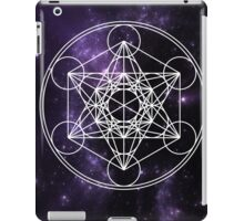 Metatron's Cube iPad Case/Skin
