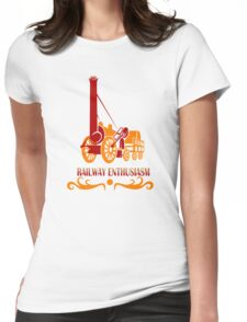 RAILWAY ENTHUSIASM Womens Fitted T-Shirt