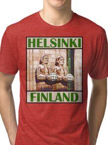 Central Railway Station, Helsinki Tri-blend T-Shirt