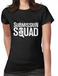 Submission Squad (Brazilian Jiu Jitsu / BJJ) Womens Fitted T-Shirt