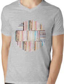 Books Vintage Mens V-Neck T-Shirt