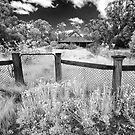 The old farmhouse in Infrared by Hans Kawitzki