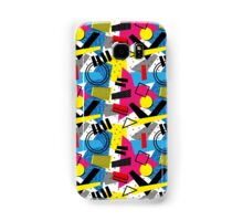 Back To The 80's Design Samsung Galaxy Case/Skin