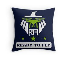 ready to fly2 Throw Pillow