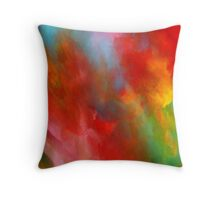 A Touch of Green Throw Pillow Throw Pillow