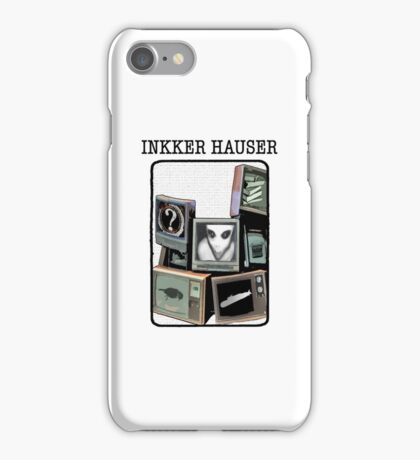 Inkker Hauser (on white) iPhone Case/Skin