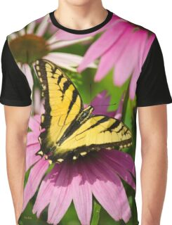 Swallowtail Butterfly Graphic T-Shirt