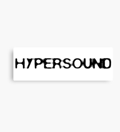 HyperSound Podcast Canvas Print
